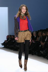 Nanette Lepore, Fall Winter 2009  (Photo by Maurice Pinzon)