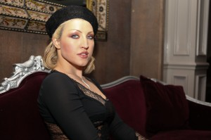 Sasha wearing Dolce & Gabbana. (Photo by Maurice Pinzon)