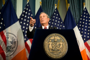 Mayor Michael R. Bloomberg. 12.2.13. Photo by Maurice Pinzon