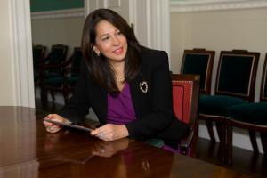 Deputy Mayor Carol Robles-Roman. 11.19.13 Photo by Maurice Pinzon.