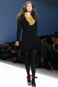 Nanette Lepore. Fall Winter 2009 (Photo by Maurice Pinzon)