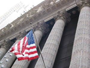 New York Stock Exchange (Photo by Maurice Pinzon)