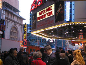 Bloomberg Campaign Event at BB King (Photo by Maurice Pinzon)