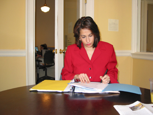 Deputy Mayor Carol Robles-Roman (Photo by Maurice Pinzon)
